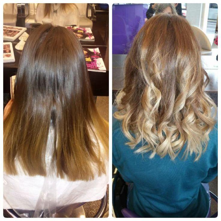 #colorchange #balayage #hairtrends #creativehair #oiepikefalis #loreal #BondUltim8 #Matrix