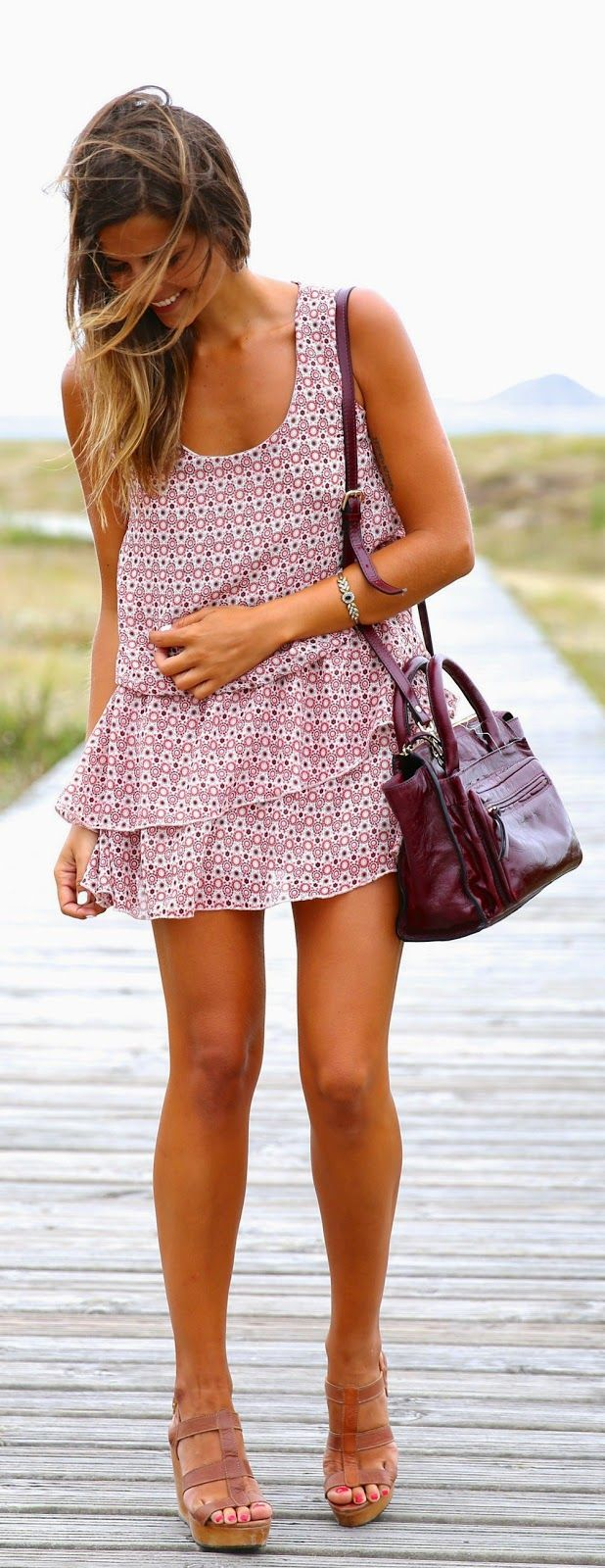 I really want to find a dress like this to wear to work with a sweater, or just to wear
