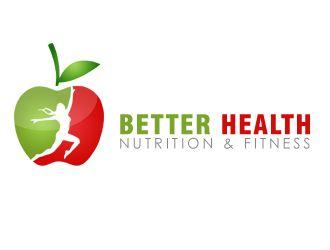 Better Health Nutrition & Fitness logo design concepts #23