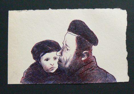 Ronald Rae, Refugees on ArtStack #ronald-rae #art
