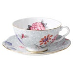 Wedgwood Harlequin Collection - Cuckoo Green Teacup and Saucer