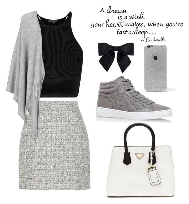 """""""The grey day☮"""" by anicute on Polyvore featuring Proenza Schouler, Joseph, Chanel, LA: Hearts and MICHAEL Michael Kors"""