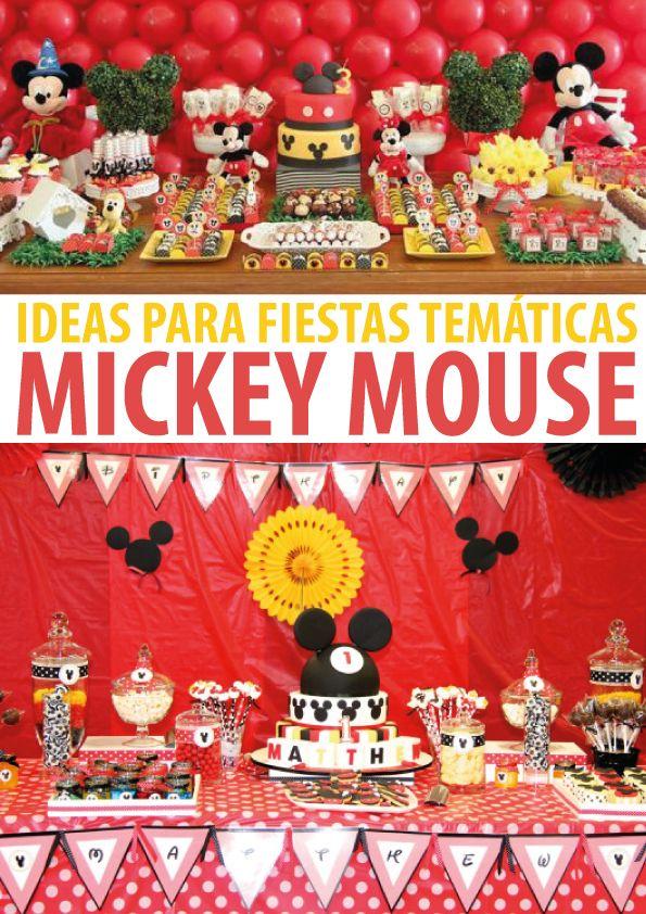 ideas para fiestas de mickey mouse