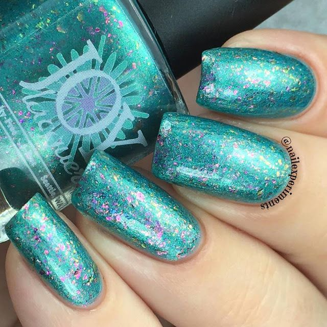 Nail Experiments: JOY LACQUER | SPECIAL EDITION CHROME FLAKIE POLISHES (2/2)