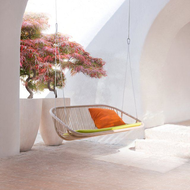 2 seater swing | by paola lenti