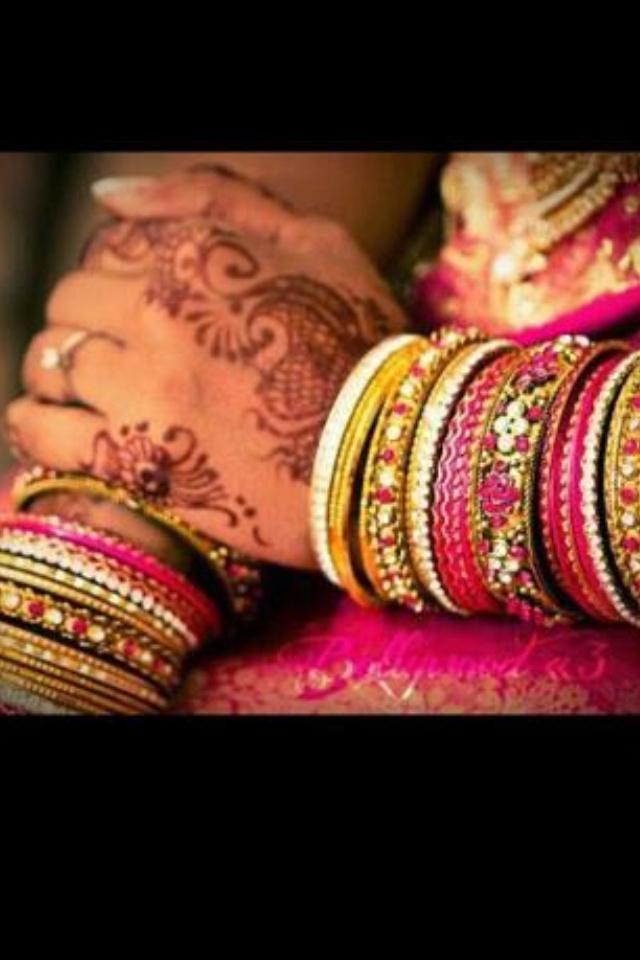 <3 henna:) indische armreifen