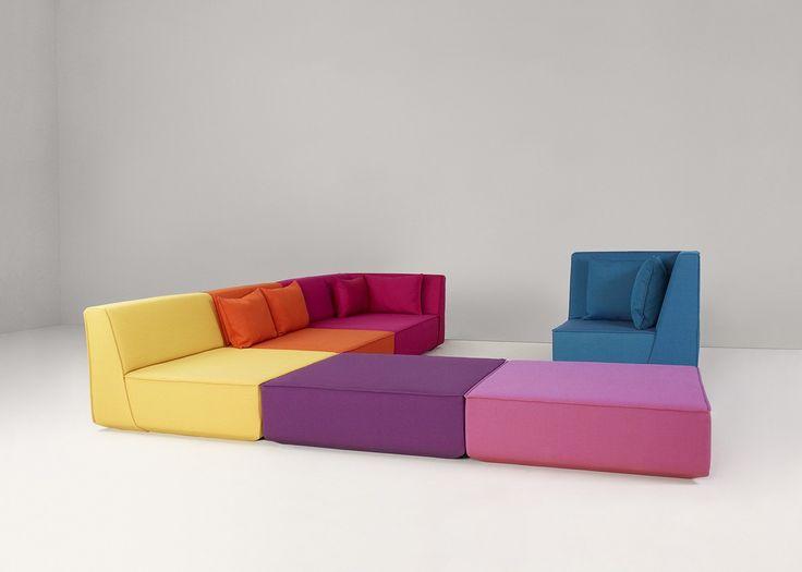 Cubit Sofa System / Olaf Schroeder For Mymito   Cubit Sofa System   Sit, Lie