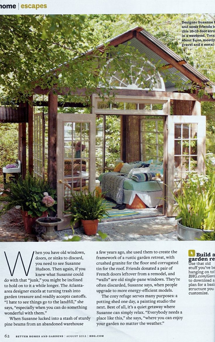 Better Homes And Gardens Magazine: I Would Love To Have This If There Was No