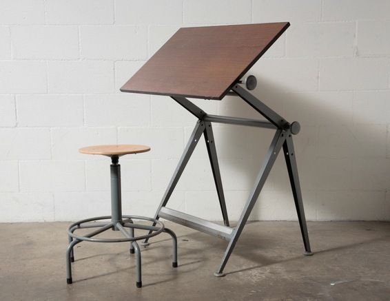 Wm. Rietveld Drafting Table: Amsterdam Modern ($500-5000) - Svpply