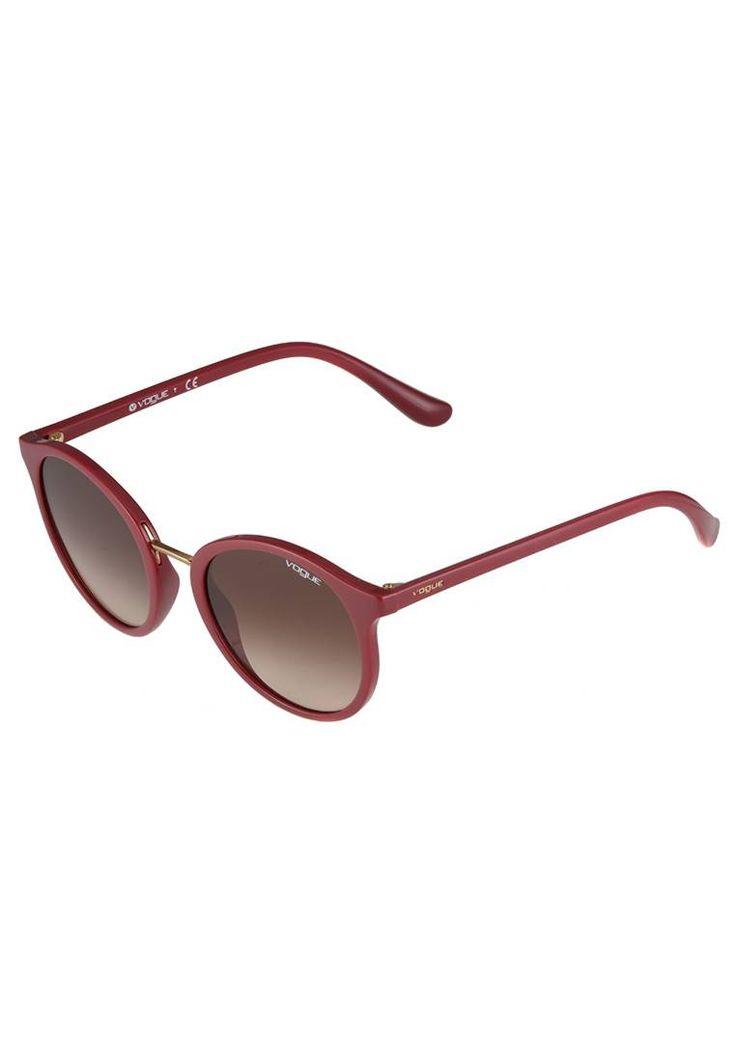 VOGUE Eyewear. Occhiali da sole - dark havana. #occhialidasole #sunglasses #zalandoIT #fashion #moda Portaocchiali:Custodia rigida. Protezione UV:Sì. Astine:14 cm nella taglia 51. Ponte:2.1 cm nella taglia 51. Larghezza:14 cm nella taglia 51. Fantasia:sfumato