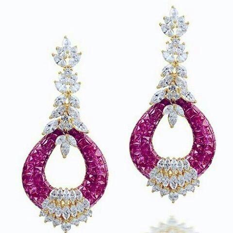 #RepostSave @civetta_rossa with @repostsaveapp  · · ·  Farahkhanfinejewelry.Exclusivel ruby and diamond earrings.True masterpiece. Astonishing beauty. Marvellous colour. #unforgettableearrings #overthetop #fashionjewelry #highjewellery #rare #fortycoononly #engagementgift  #preciousjewels #princelygift #money #forelegantladies #royalgift #Iwantit
