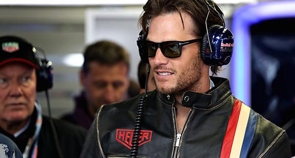 Tom Brady at the Formula One Canada Grand Prix in Montreal