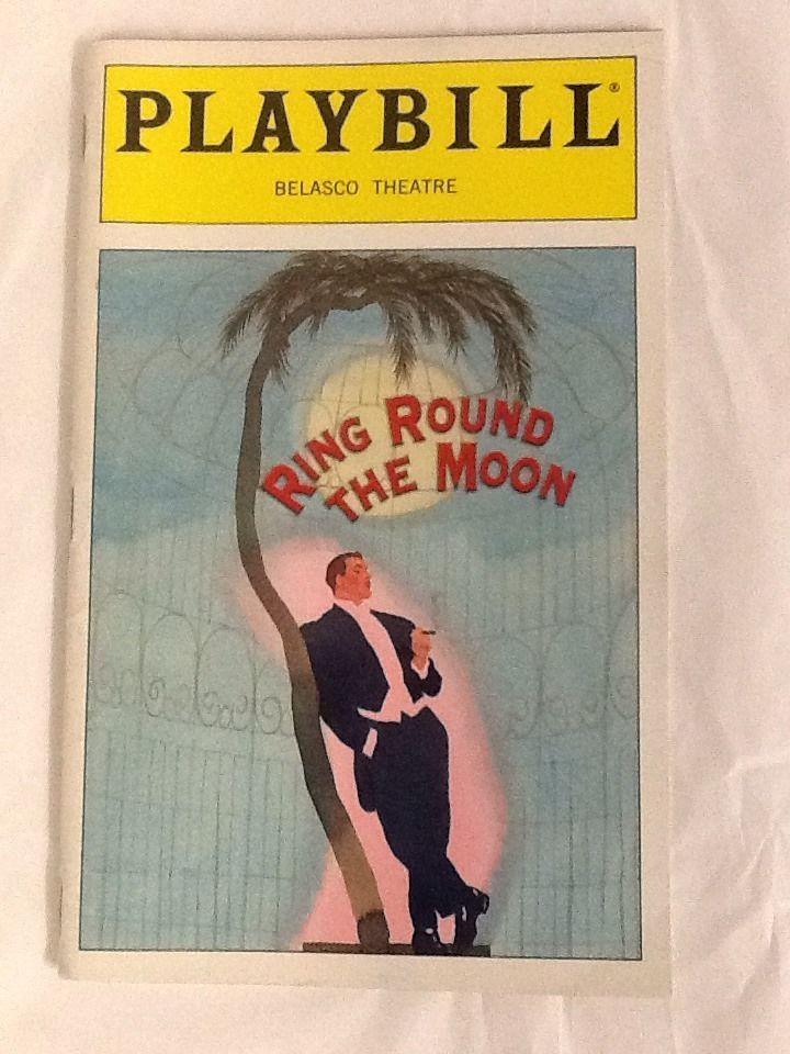 Ring Around the Moon Opening Night Playbill Joyce Van Patten Fritz Weaver 1999 Marian Seldes
