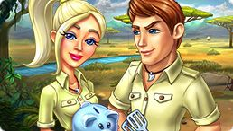 Katy And Bob: Safari Cafe - Collector's Edition by MyPlayCity for FREE today