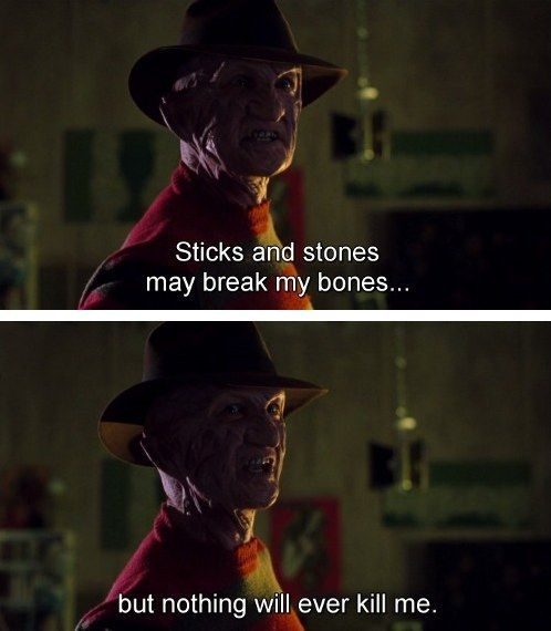 He can't.be.tamed. | Community Post: 16 Reasons Freddy Krueger Is The Best Horror Serial Killer