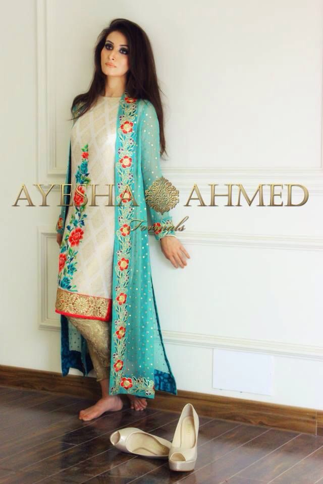 Shalwar kameez with long coat                                                                                                                                                     More