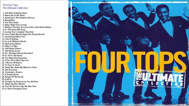 Four Tops Ultimate Collection: Four Tops 'The Ultimate Collection'