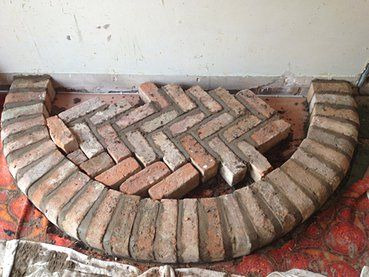 Best 25 Brick Hearth Ideas On Pinterest Brick Fireplace