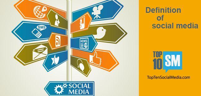 The definition of social media in 10 words social media for Soil media definition