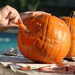 Pumpkin Carving Tips...never knew how to make them last longer and smell good!!