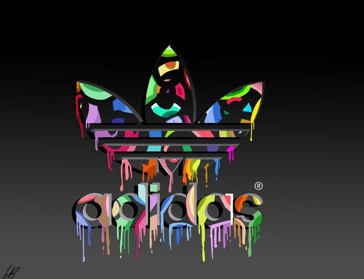 Cool Adidas Logos | Brands & Logo : Adidas Logo Colorful Dekstop High Quality ...