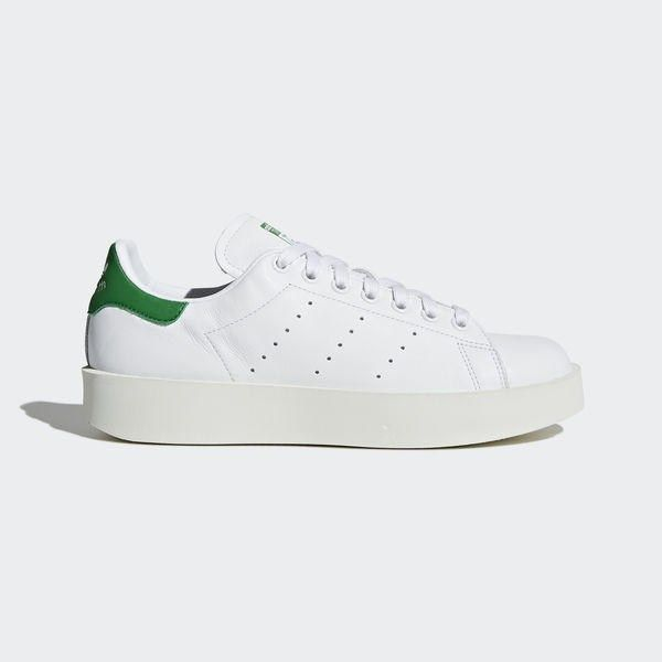 new concept f5e0b dea85 adidas Stan Smith Bold Shoes – White   adidas UK – Best Shoes Ideas