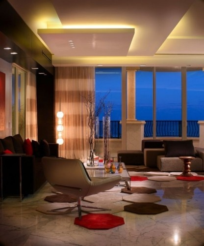 Modern Living Room Interior Design Photos best pooja room design by interior designer kamlesh maniya india Find This Pin And More On Led Lighting For Living Rooms