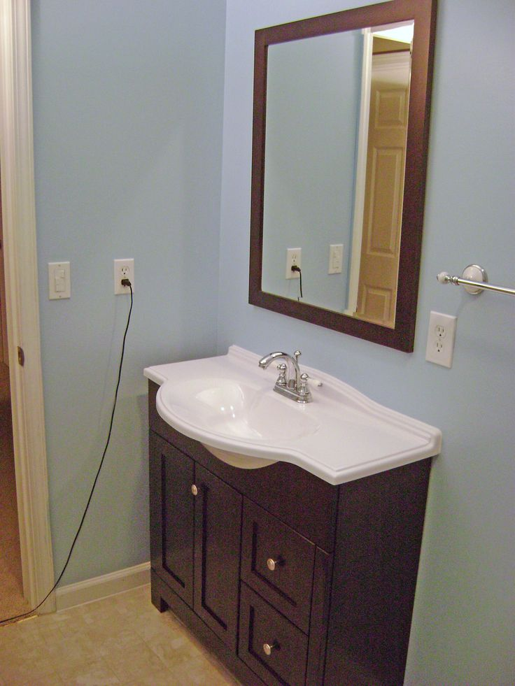 Make Photo Gallery great vanity for small spaces