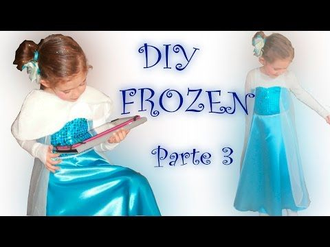 Patrón disfraz Elsa Frozen!! https://youtu.be/XJIXsoKy0PI