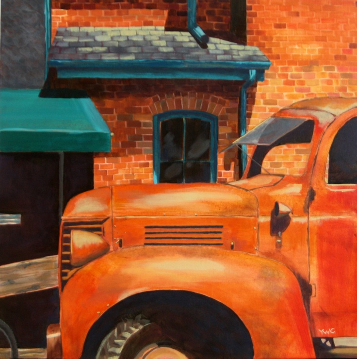 Yvonne Westerveld Cardoso  'Rusty Truck at the Distillery'