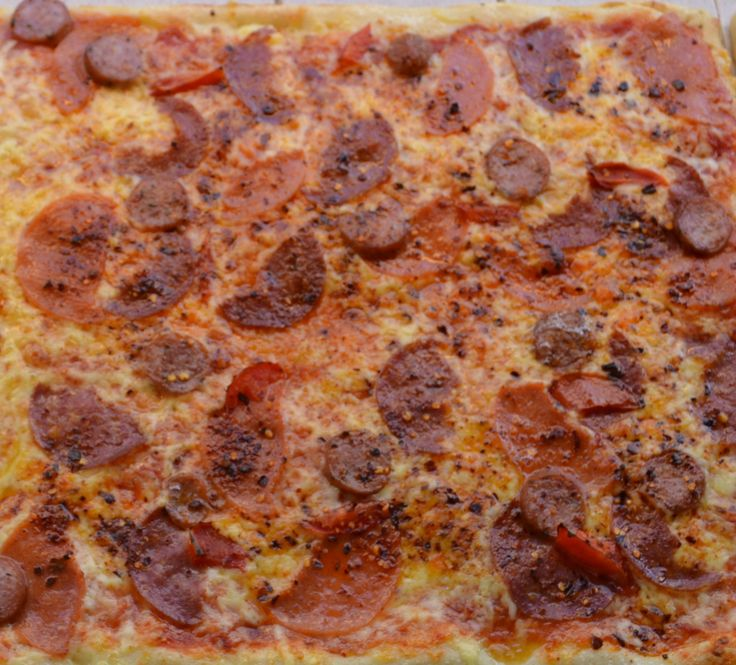 Pizza Fornino Diavola... It's a ''devilish'' temptation!!