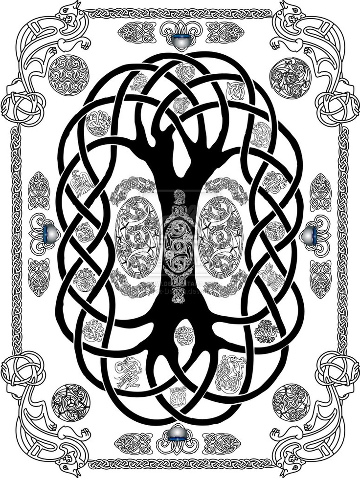 Nordic Tree Tattoos
