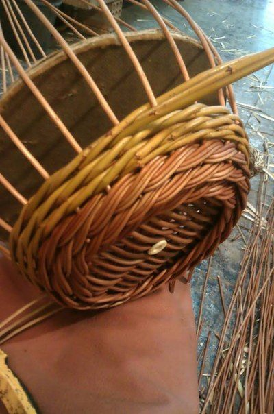 Willow Basket Weaving How To : Best images on basket