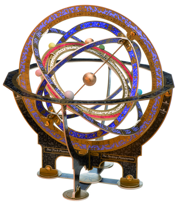 The Desktop Planetarium Kit For A Classical Armillary