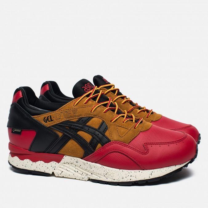 Мужские кроссовки ASICS Gel-Lyte V Gore-Tex Red/Black