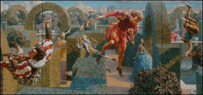 Alexej Ravski- International Magic Realism Art Shows