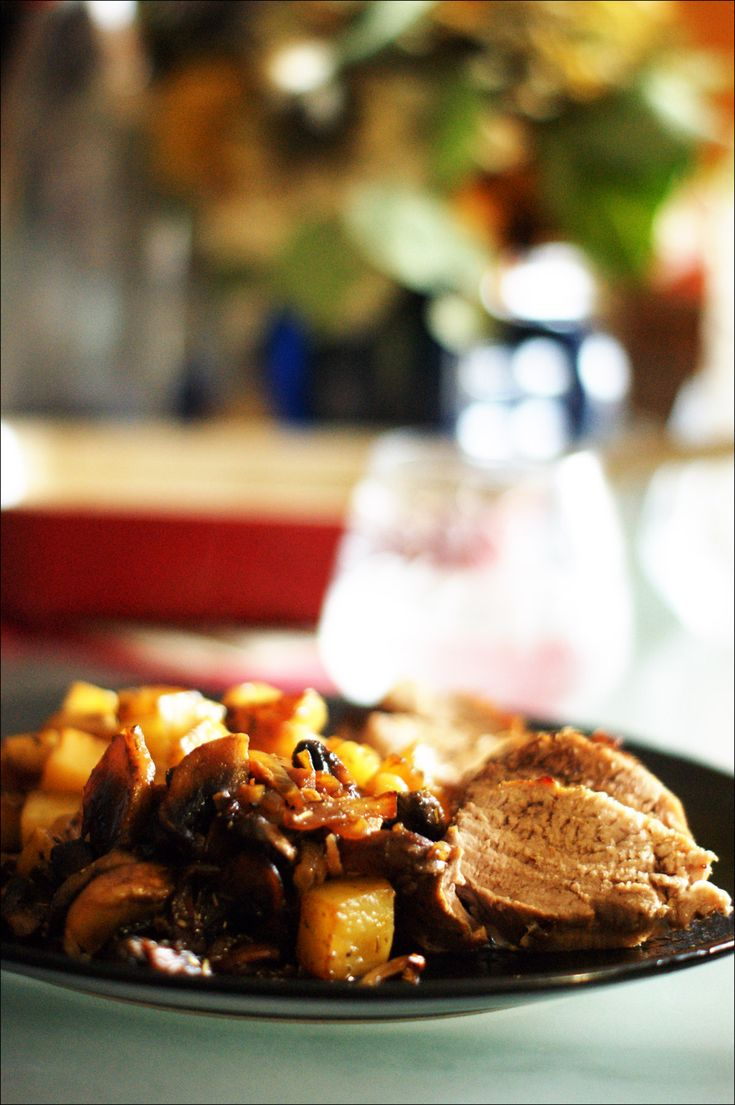 Filet mignon et pommes de terre
