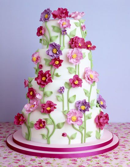 Happy Birthday to you, Rainflower! 61aef99d278cabf9f28558c259d26f78--pretty-cakes-beautiful-cakes
