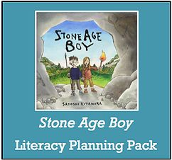 Stone Age Boy Planning Literacy