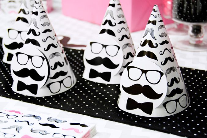 Pink Mustache Party