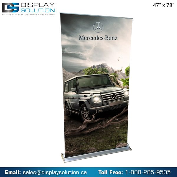 Take these simple, affordable and versatile banner stands to your trade shows, your corporate events, your fund raisers, your kiosks, your school and office lobbies and anywhere else. The assembly takes mere seconds and our light-weight, high-quality durable material is designed to last for years to come. For more details visit us on https://displaysolution.ca/banner-stand.html