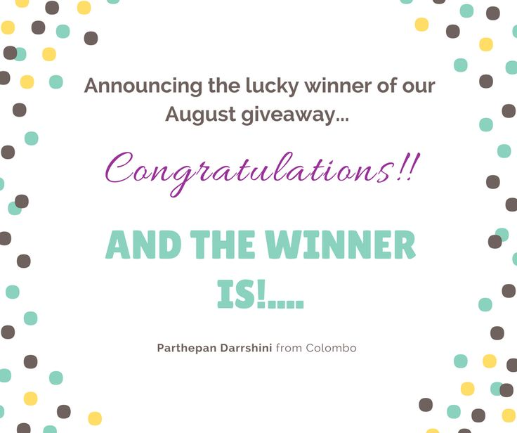 We are so so excited to announce our very first lucky winner for the August giveaway. Congratulations Darrshini 🙂.. We'll send you an email to get your postal address for delivery shortly.. 🏅  Everyone else don't be disheartened.. There's 4 more chances of winning till end of the year... you are already in the competition so just have your fingers crossed... 😉  🏆 Wish everyone all the very best with the future draws from team at Mosaic Melbourne! 💝