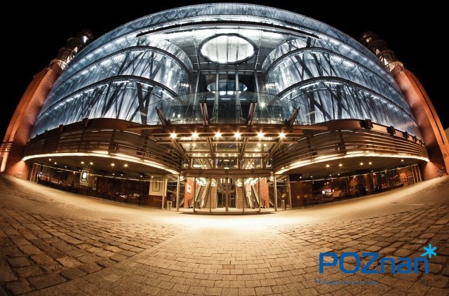 Poznan Poland, Stary Browar Shopping Center, one of the best in Europe, center of art