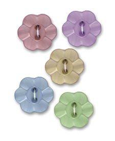 Floral Petal Buttons