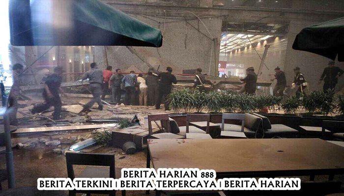 BEI Dievakuasi Setelah Keruntuhan Lantai | Berita Harian 888