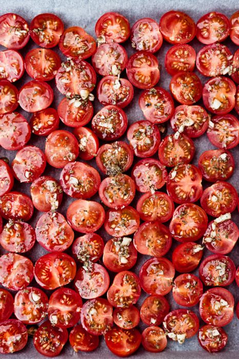 Tomatoes are a powerfully protective antioxidant. Toss them in salads or roast them in the oven!