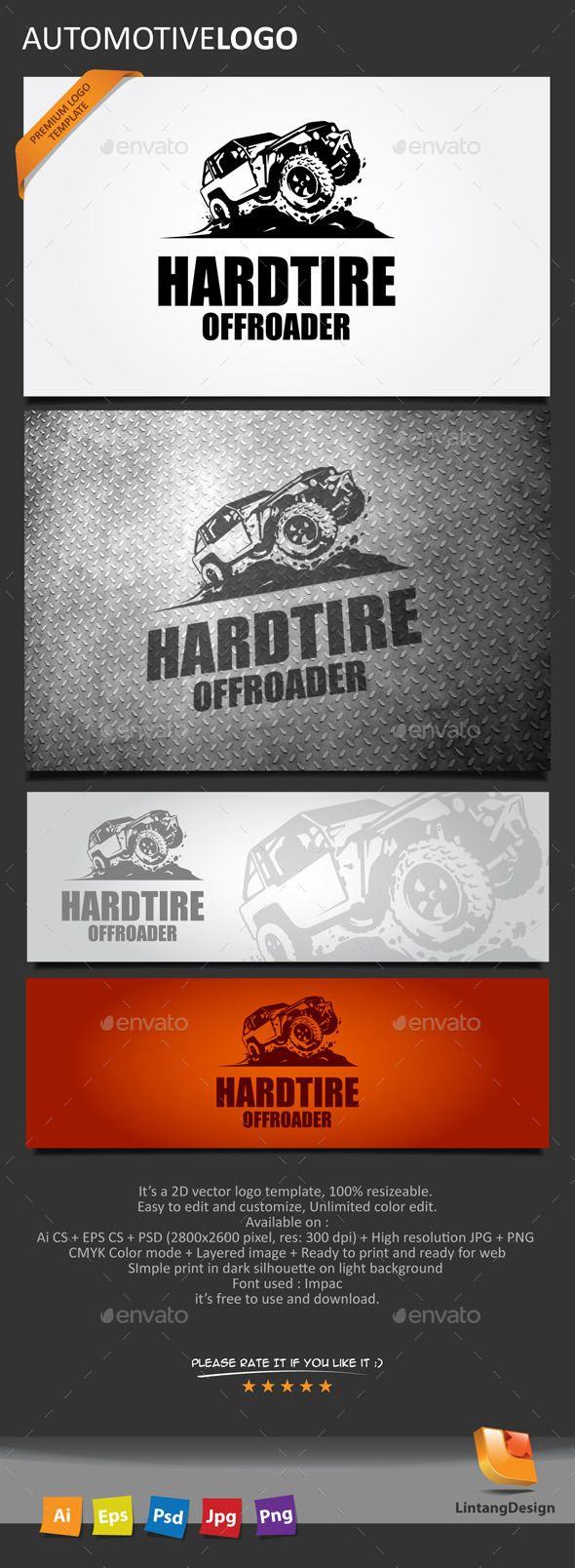 Automotive Logo — Photoshop PSD #community #vector • Available here → https://graphicriver.net/item/automotive-logo/10421857?ref=pxcr