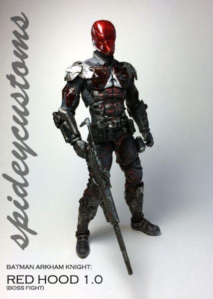 Arkham Knight Red Hood 1.0 (Batman) Custom Action Figure