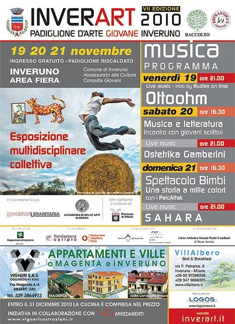 INVERART 2010 Padiglione arte giovane, 19-20-21 Novembre  INVERUNO