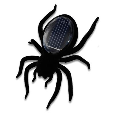 Paianjenul - Robot solar, cand este expus luminii solare directe, vibreaza la propriu din toti porii de parca ar fi gata sa atace. Parametrii sunt calculati in asa fel incat sa se opreasca atunci cand da de umbra.   http://www.fungift.ro/magazin-online-cadouri/Paianjenul-Robot-solar-p-18239-c-0-p.html